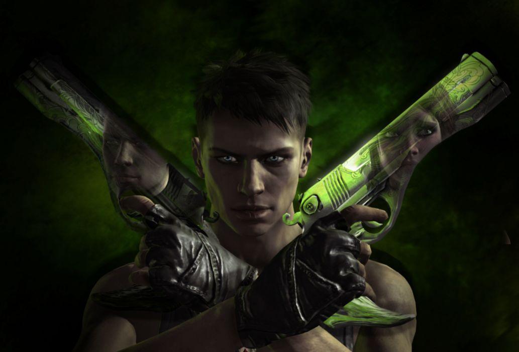 Devil May Cry Pistol Dante Men Games weapon gun fantasy     f wallpaper