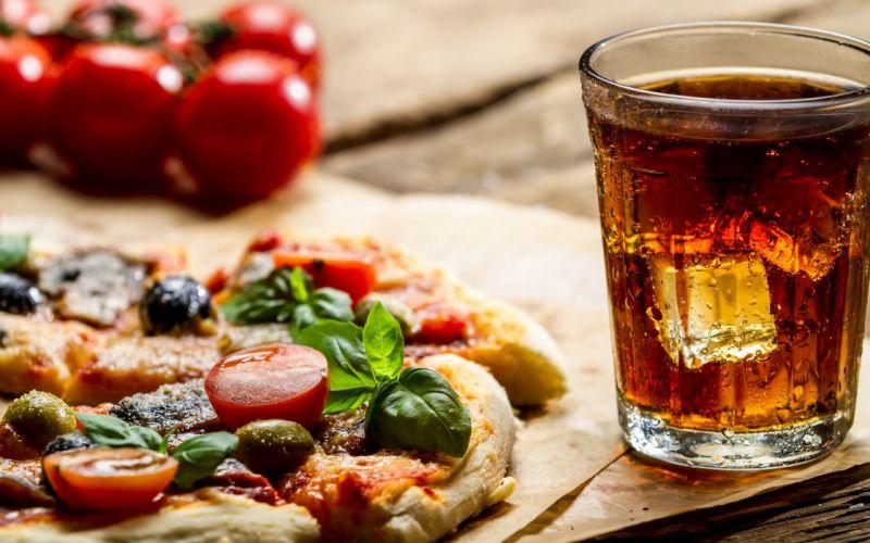 drink pizza wallpaper