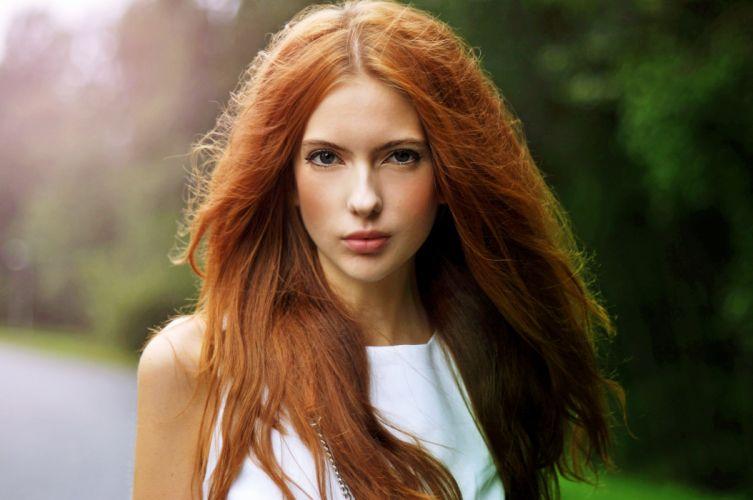 ebba zingmark girl model redhead wallpaper