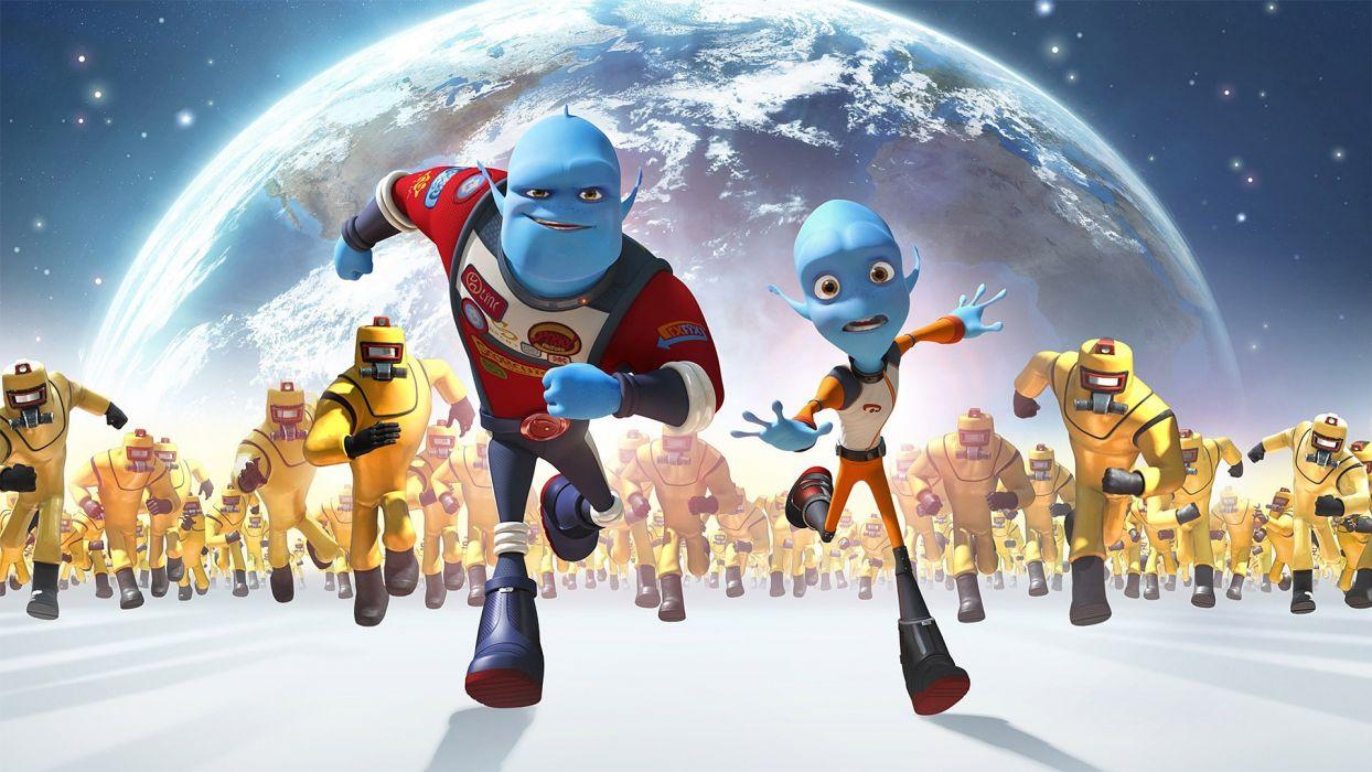 ESCAPE FROM PLANET EARTH Animation Adventure Comedy Family Sci-Fi movie wallpaper