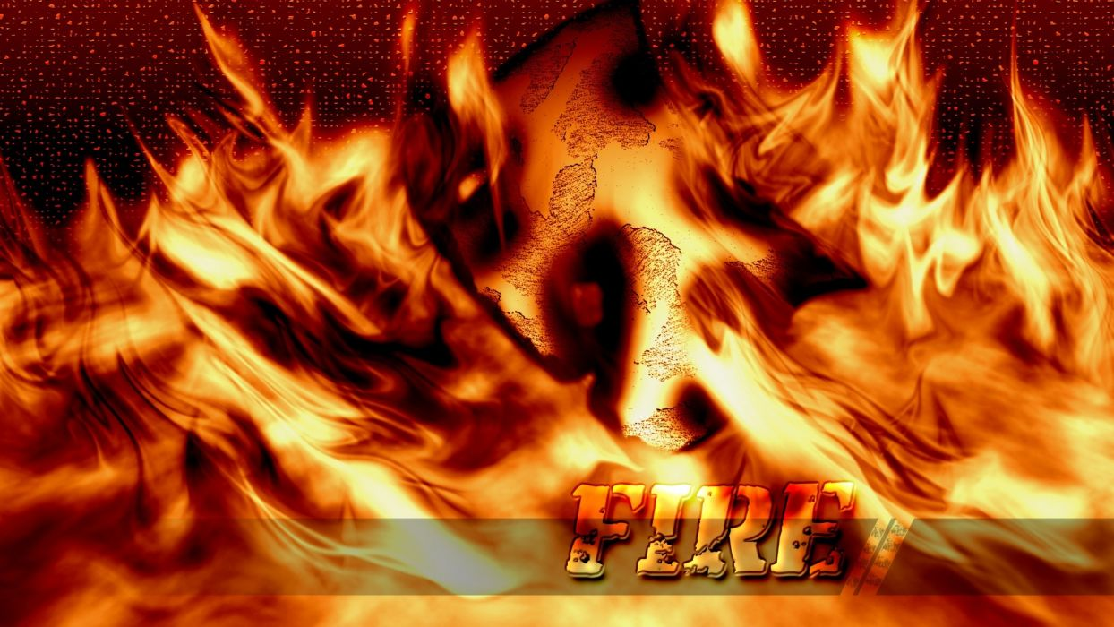 fire flame wallpaper