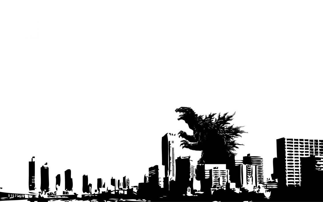 GODZILLA sci-fi fantasy action dinosaur apocalyptic  f wallpaper