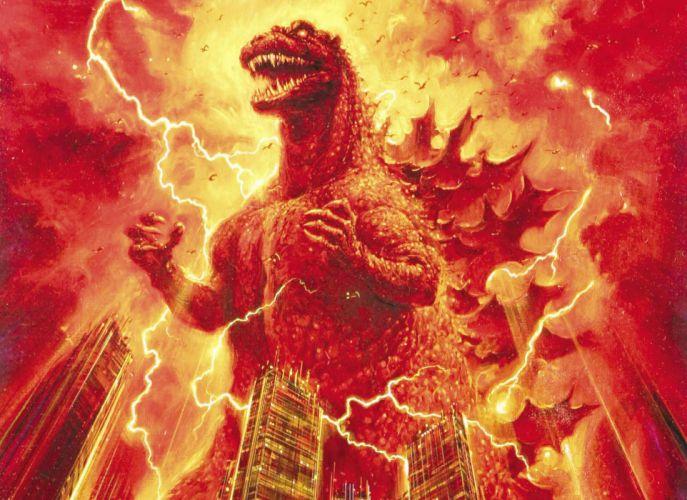 GODZILLA sci-fi fantasy action dinosaur monster d wallpaper
