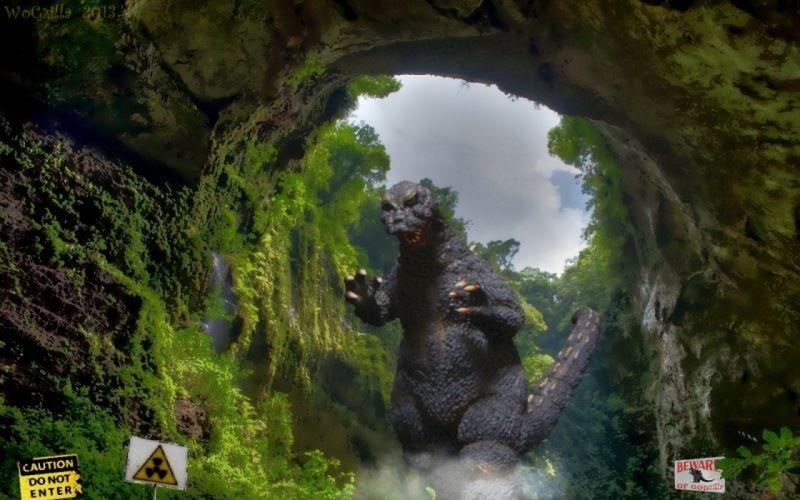 GODZILLA sci-fi fantasy action dinosaur monster f wallpaper