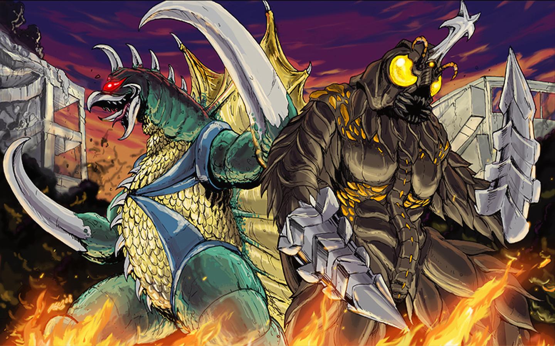 Godzilla Sci Fi Fantasy Action Dinosaur Monster D