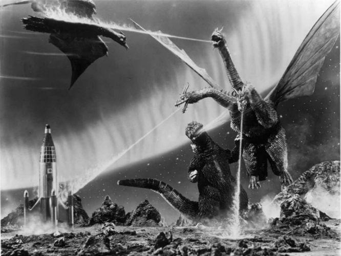 GODZILLA sci-fi fantasy action dinosaur monster battle ft wallpaper