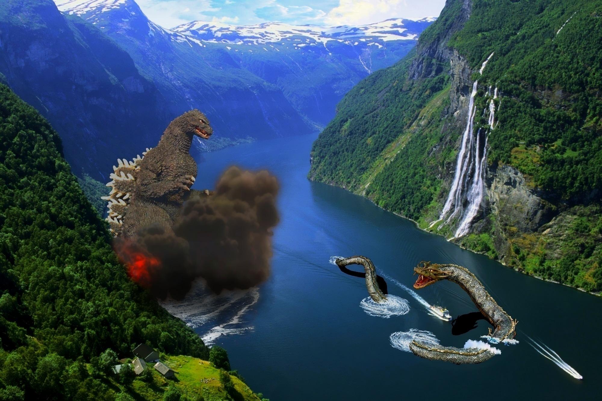 wallpaper godzilla monster dinosaur - photo #36