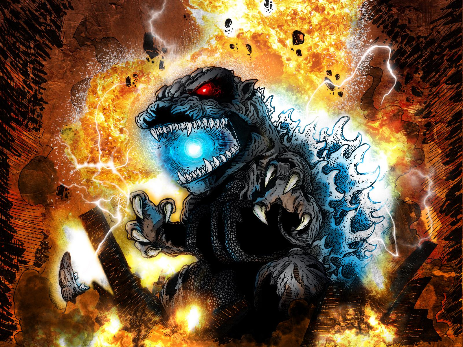 wallpaper godzilla monster dinosaur - photo #35