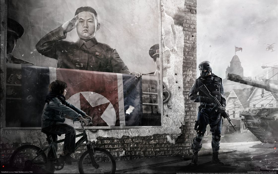 HOMEFRONT game   e wallpaper