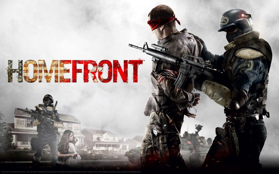 HOMEFRONT game war action    tr wallpaper