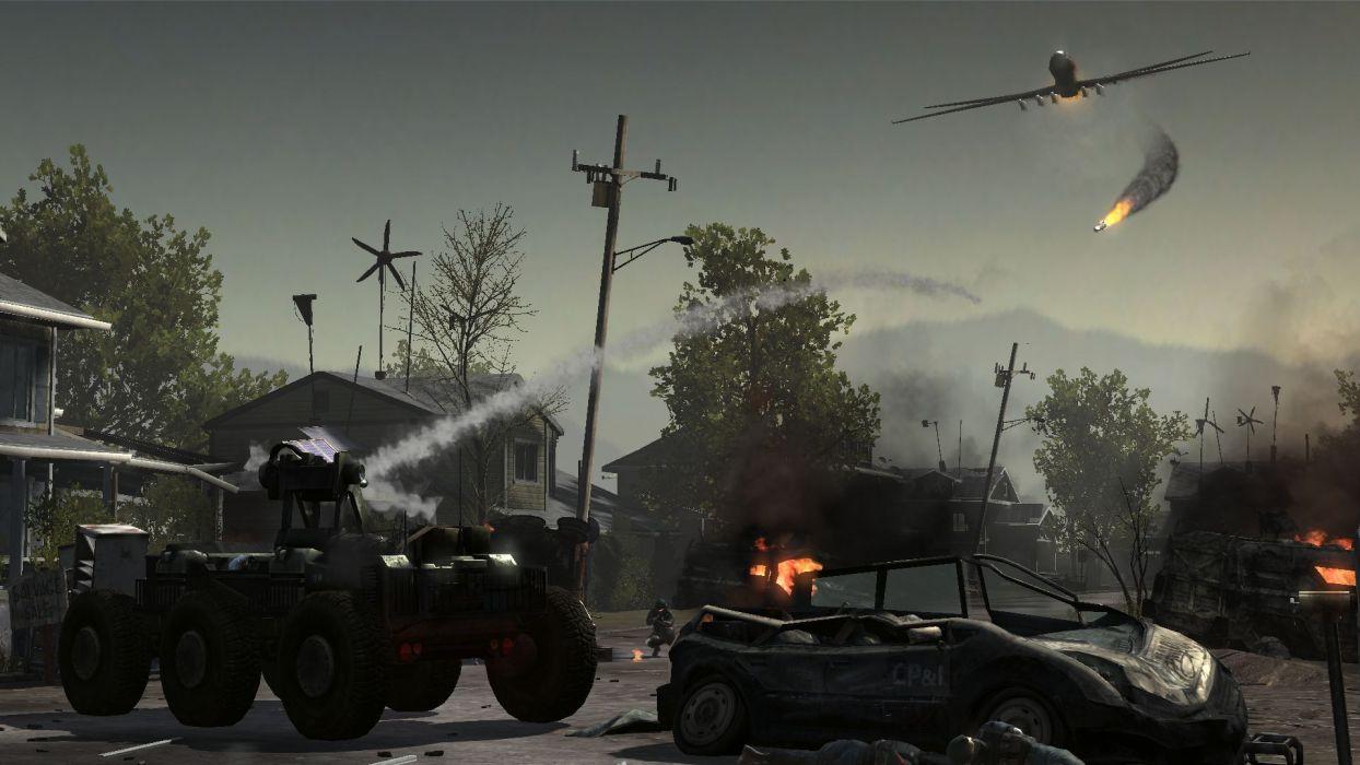 HOMEFRONT game war action battle weapon wallpaper