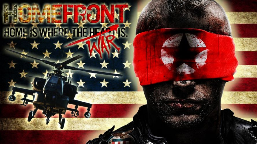 HOMEFRONT game war action helicopter military f wallpaper