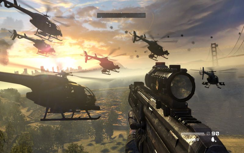 HOMEFRONT game war action helicopter military weapon gun g wallpaper