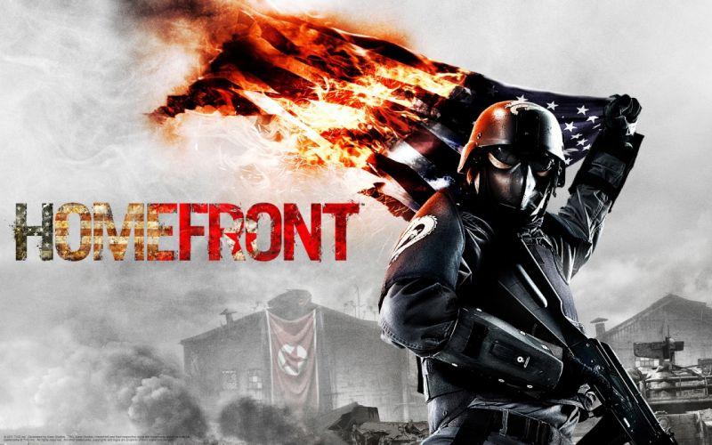 HOMEFRONT game war action warrior armor weapon gun f wallpaper