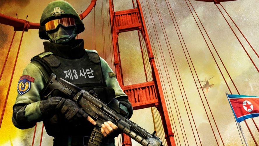 HOMEFRONT game war action warrior armor weapon gun t wallpaper