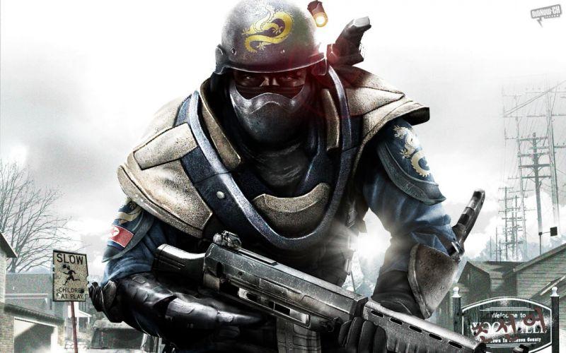 HOMEFRONT game war action warrior armor weapon gun g wallpaper