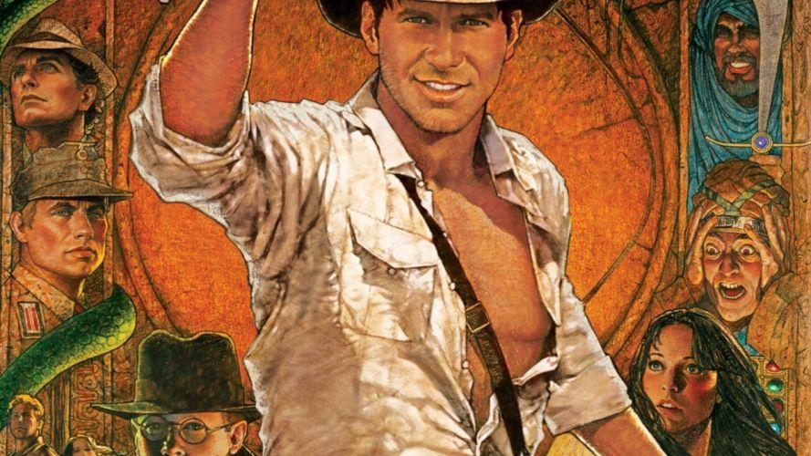 INDIANA JONES RAIDERS LOST ARK action adventure poster f wallpaper