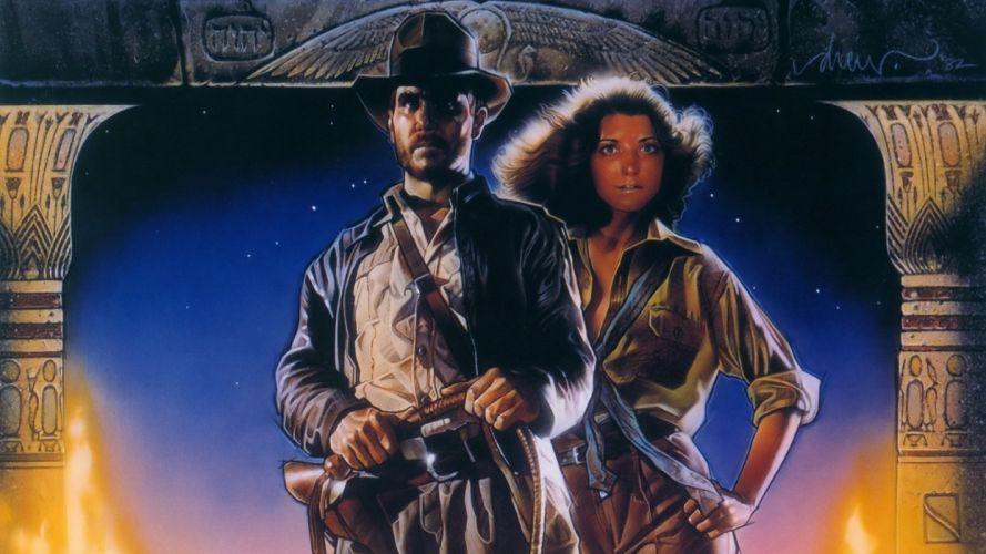 INDIANA JONES RAIDERS LOST ARK action adventure poster d wallpaper
