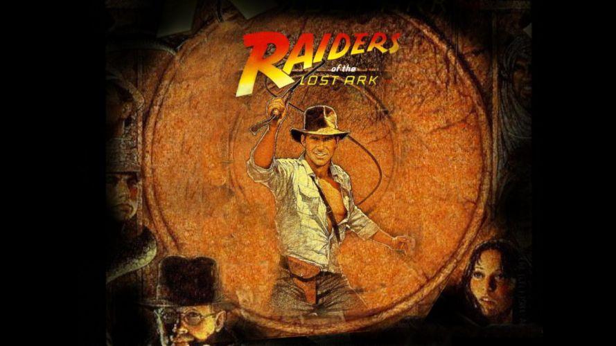 INDIANA JONES RAIDERS LOST ARK action adventure poster r wallpaper
