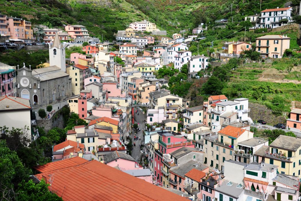 Italy Houses Riomaggiore Cities wallpaper