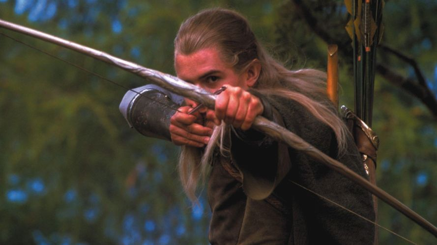 LORD OF THE RINGS lotr fantasy fellowship adventure warrior elf elves archer f wallpaper