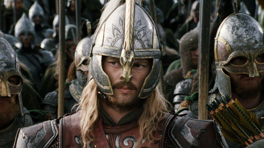 LORD OF THE RINGS lotr fantasy return king adventure warrior armor f wallpaper