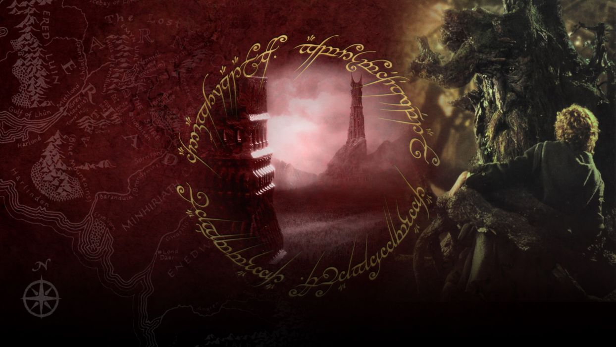 LORD OF THE RINGS lotr fantasy two towers adventure h wallpaper