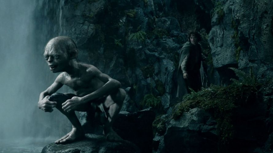 LORD OF THE RINGS lotr fantasy two towers adventure gollum g wallpaper