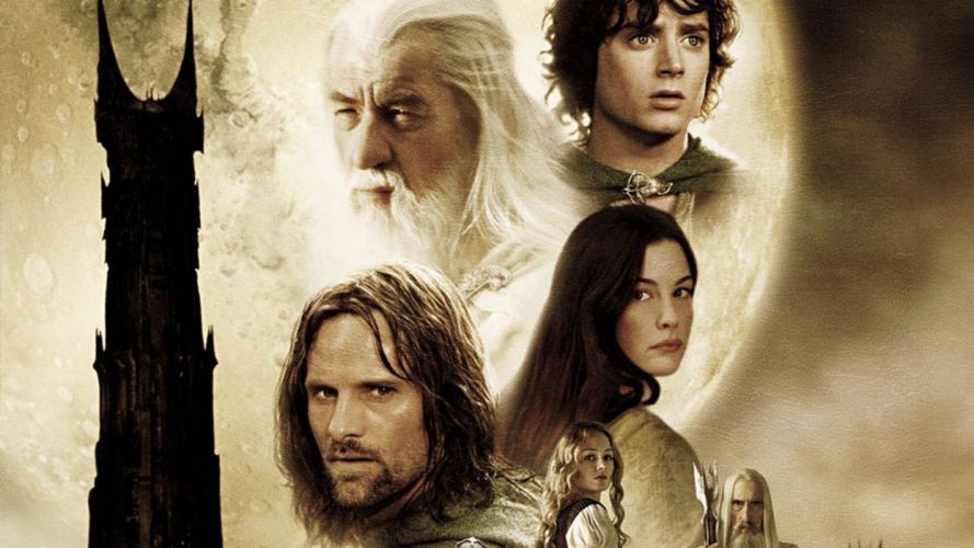 LORD OF THE RINGS lotr fantasy two towers adventure poster g wallpaper