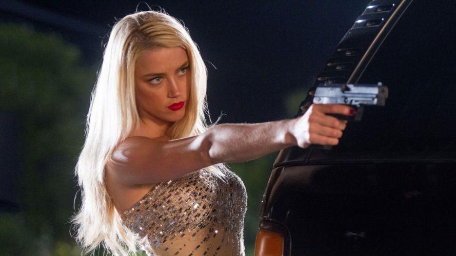 MACHETE KILLS action girls guns girl gun weapon blonde f wallpaper