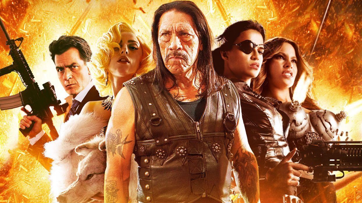 Machete Kills action poster      f wallpaper