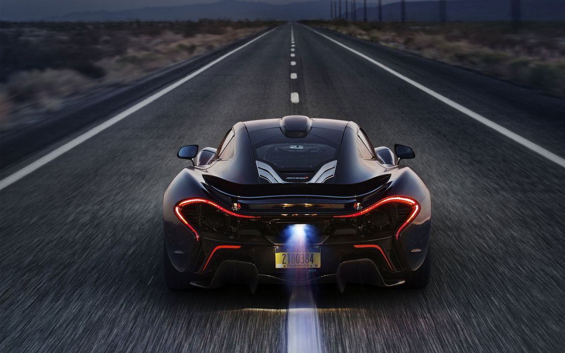 McLaren P1 2014 Auto Supercar wallpaper