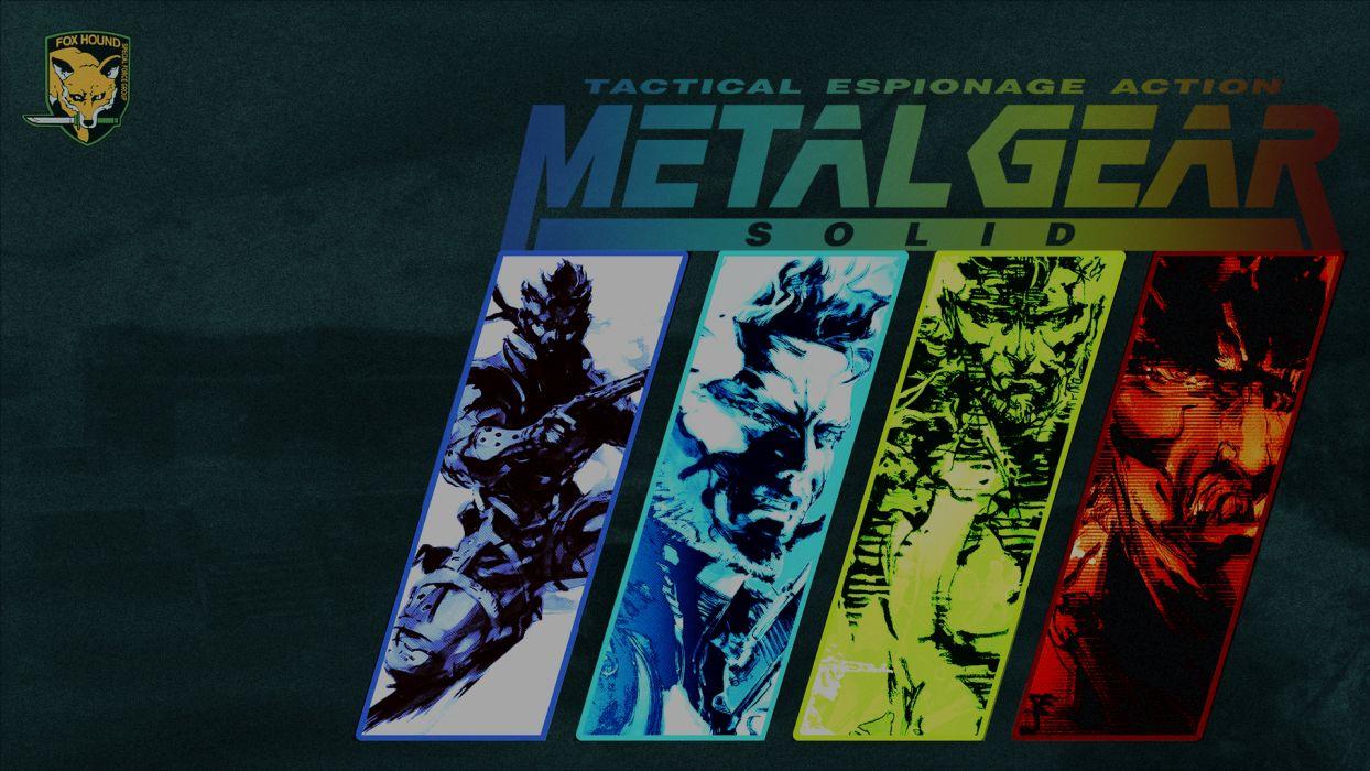 Metal Gear Solid Wallpaper 1920x1080 179351 Wallpaperup