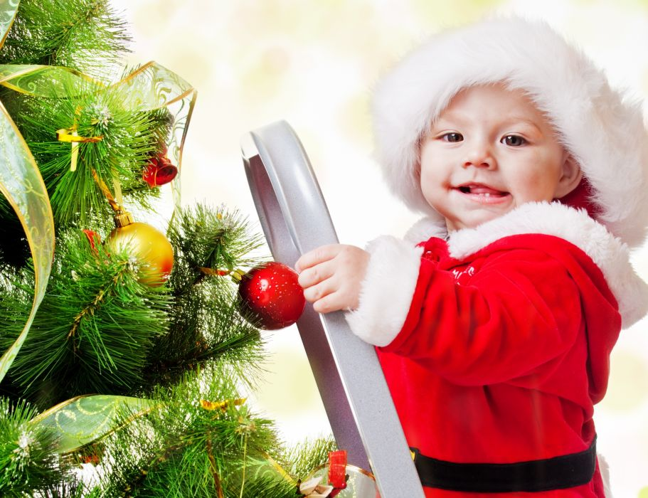 merry christmas Adorable funny beautiful kid children wallpaper
