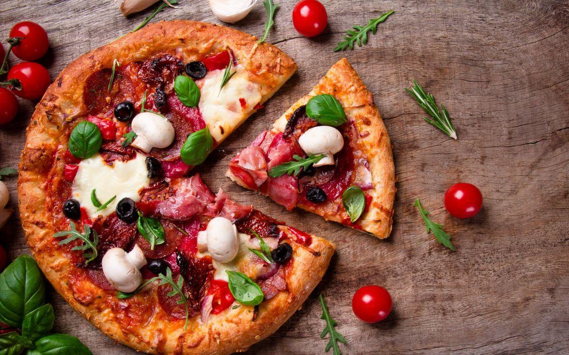 mushroom Pizza       u wallpaper