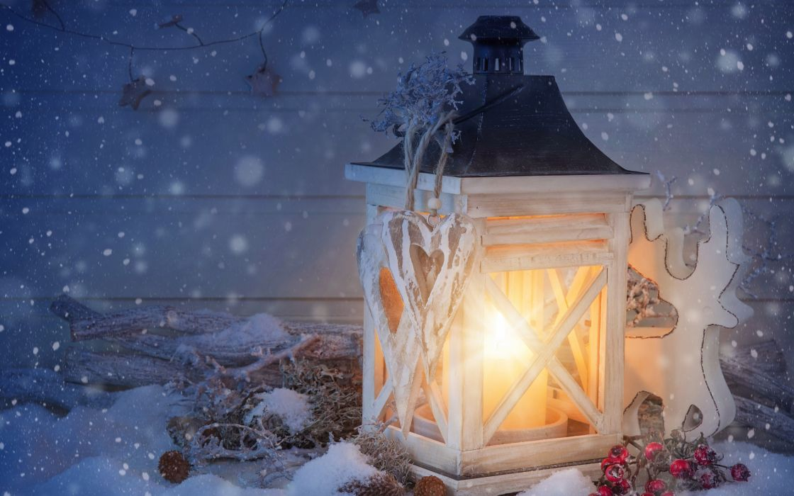 new year merry christmas lantern wallpaper