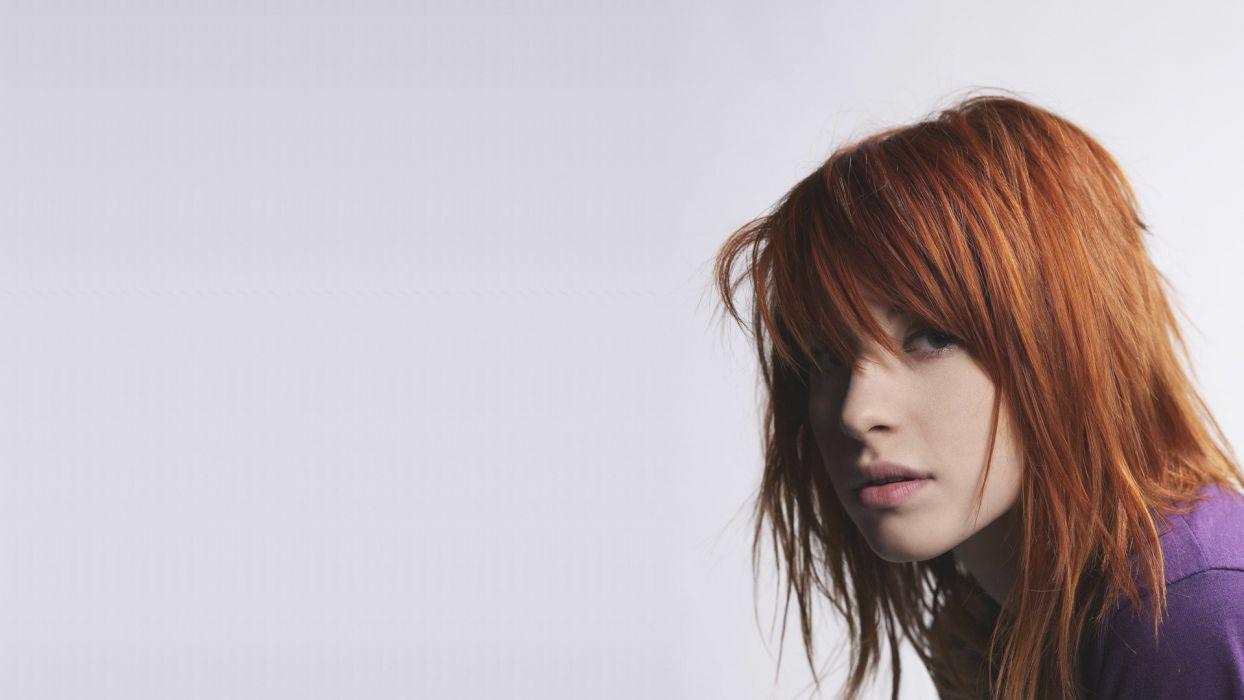 paramore Hayley williams hair redhead       g wallpaper