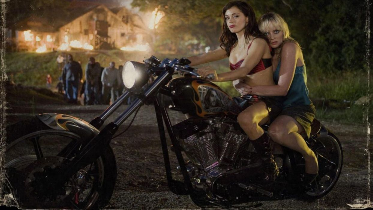 PLANET TERROR grindhouswe Action Horror Sci-Fi    r wallpaper
