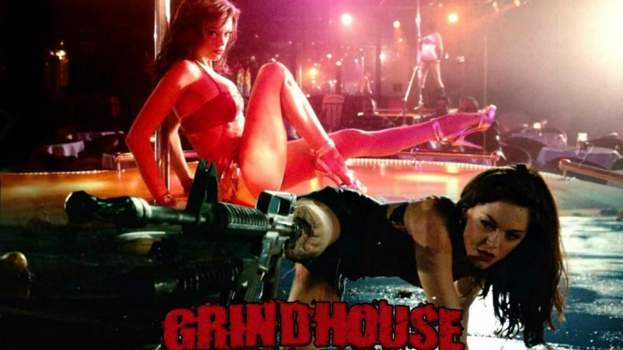PLANET TERROR grindhouswe Action Horror Sci-Fi poster g wallpaper