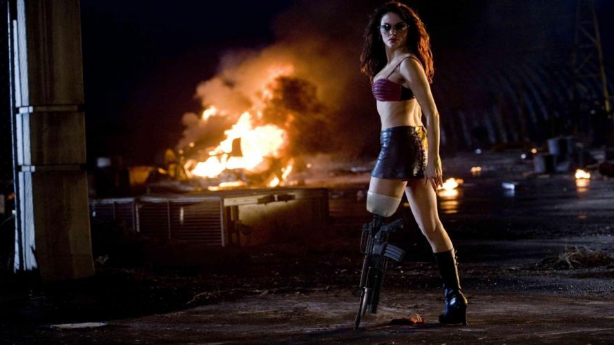PLANET TERROR grindhouswe Action Horror Sci-Fi warrior h wallpaper