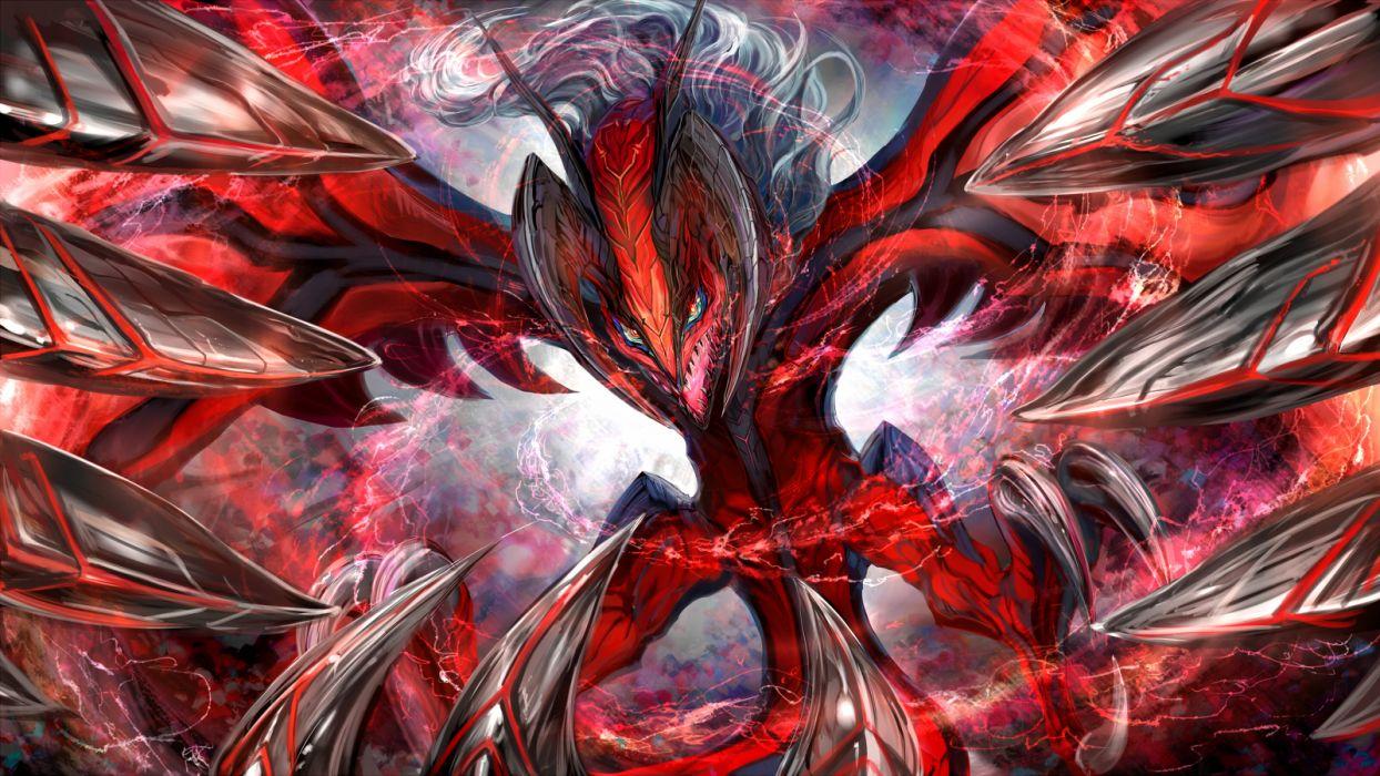 pokemon red thyr yveltal wallpaper