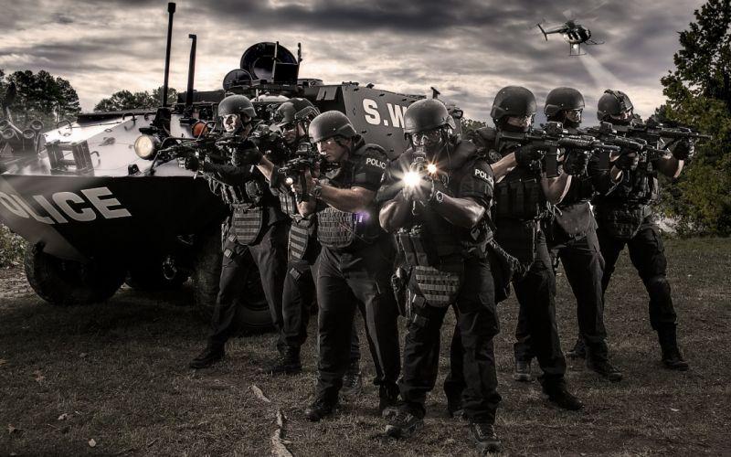police weapon gun f wallpaper