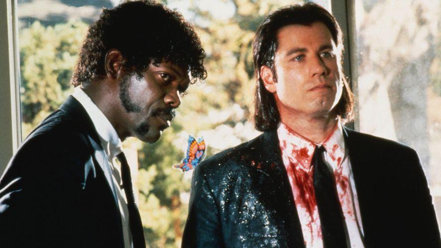 PULP FICTION Crime Thriller dark blood g wallpaper