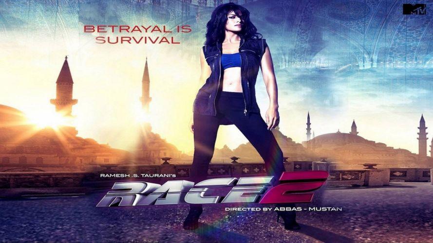 RACE 2 Action Thriller Crime Drama poster f wallpaper