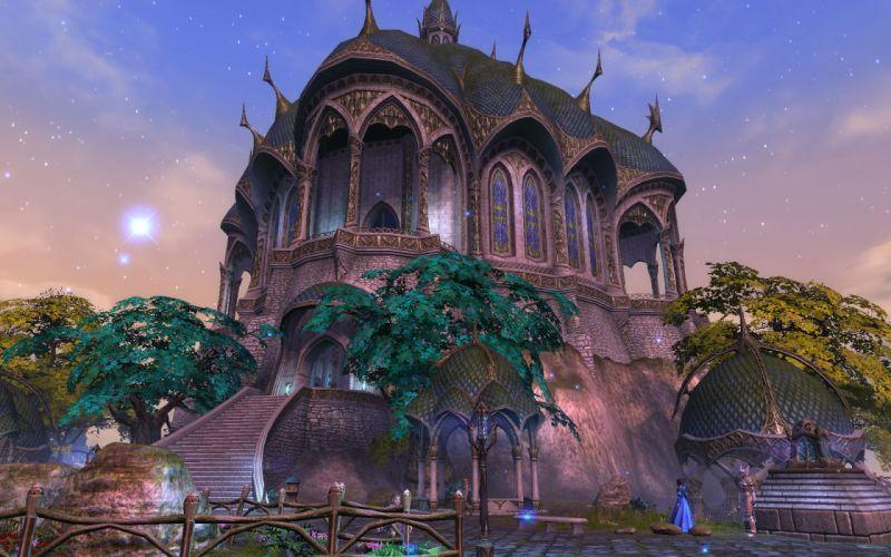 RIFT games fantasy castle t wallpaper