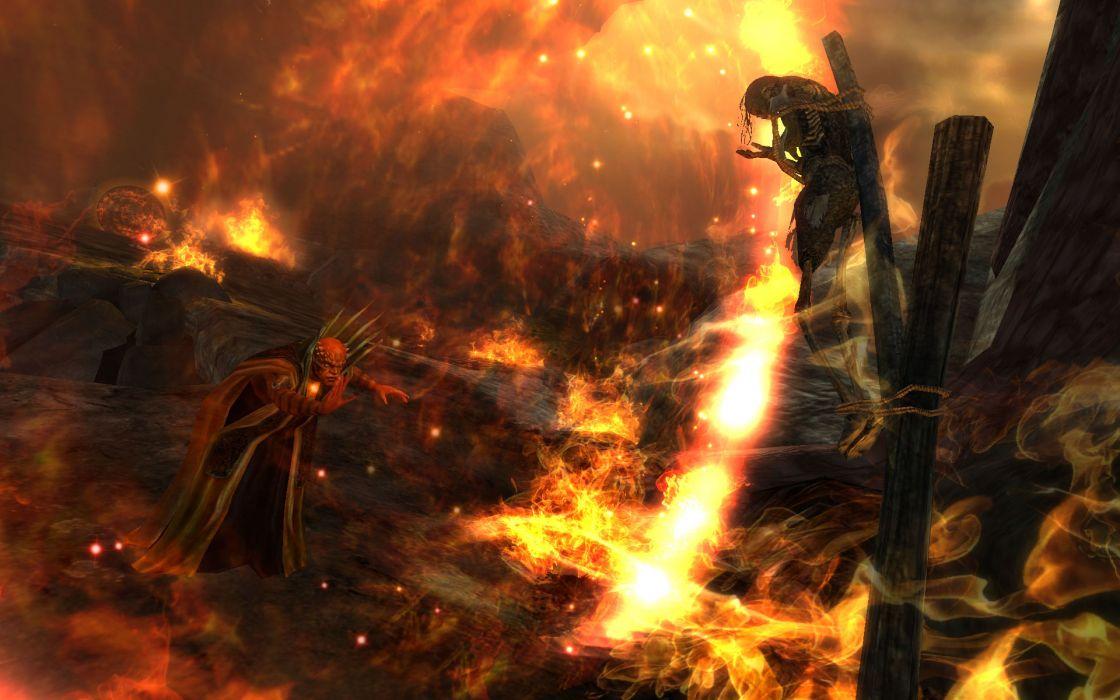 RIFT games fantasy demon fire evil dark horror     f wallpaper