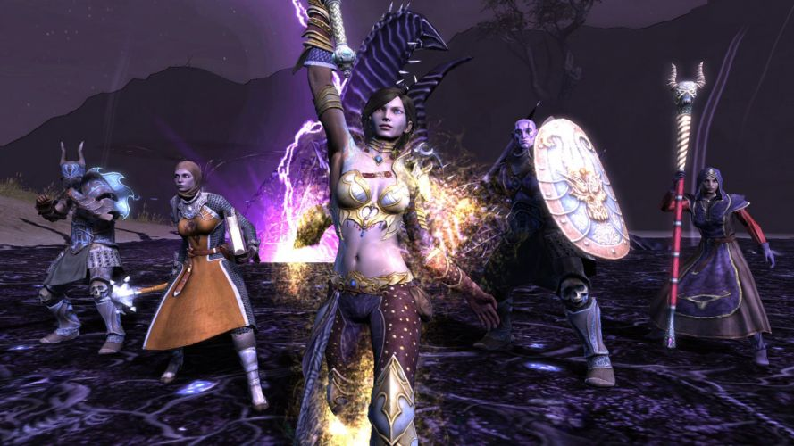 RIFT games fantasy warrior armor girl sword weapon f wallpaper