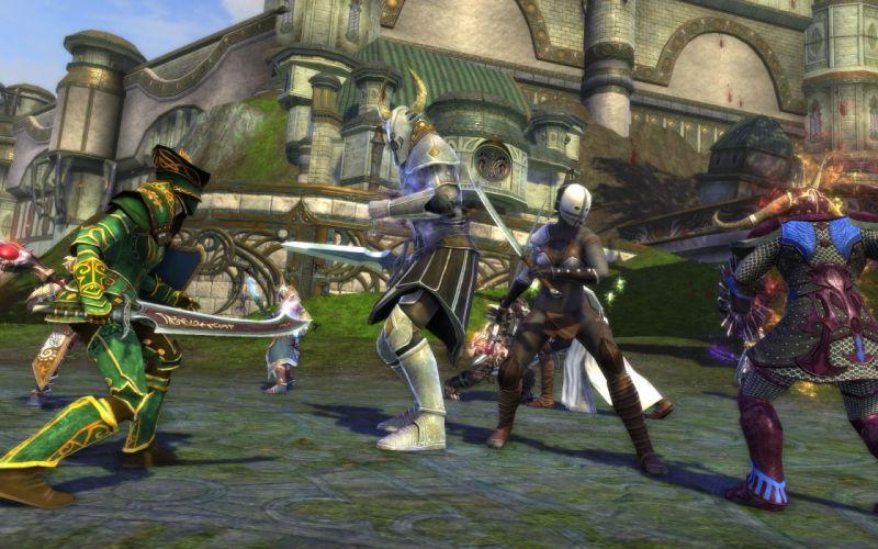 RIFT games fantasy warrior battle armor f wallpaper