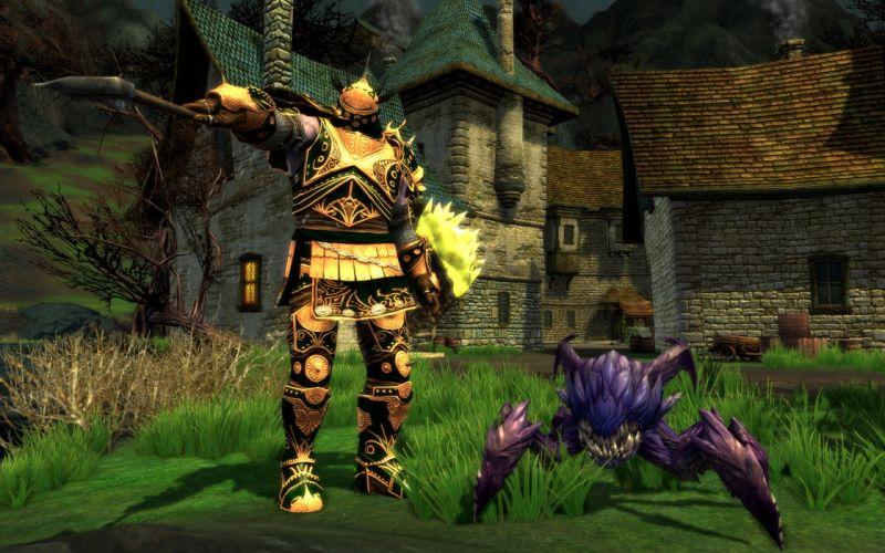 RIFT games fantasy warrior armor sword f wallpaper