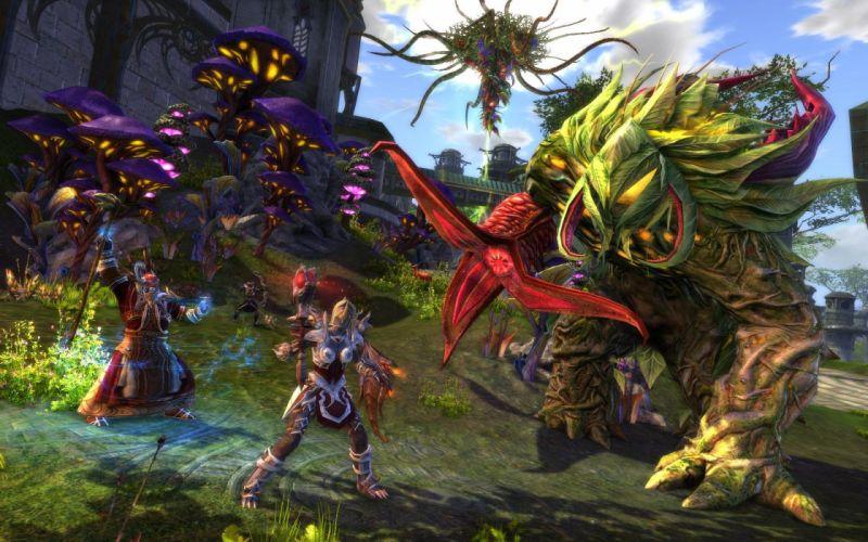 RIFT games fantasy warrior battle monster t wallpaper